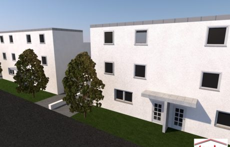 Neubau vom Mehrfamilienhaus-Vöhringen