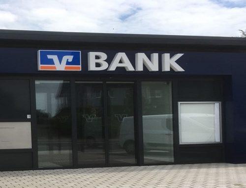 Neubau der Volksbank in Oberberg