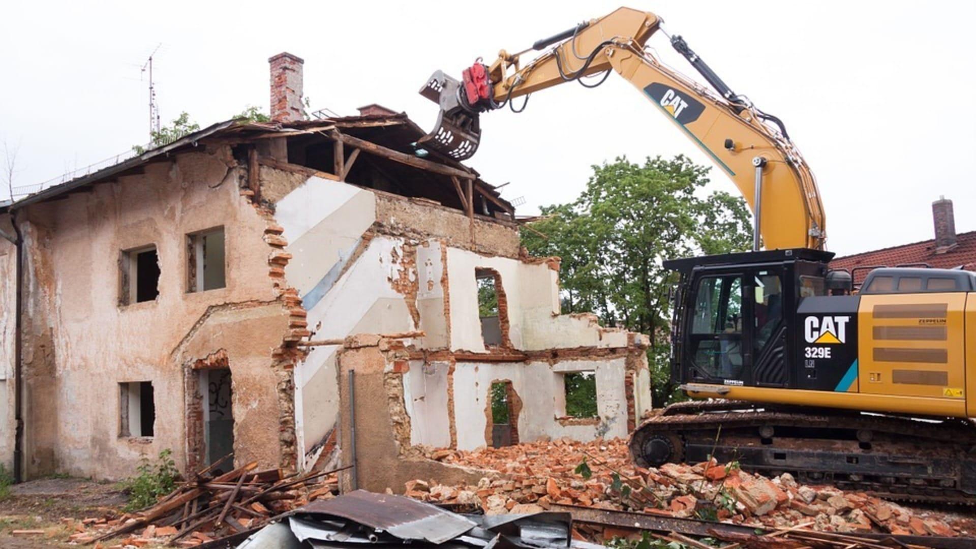 Abbruch-und Abrissarbeiten Bauunternehmer Mönchengladbach