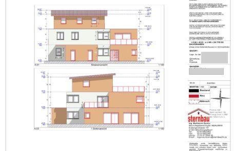 Architekt-Ansicht