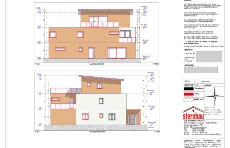 Architekt-Ansichten