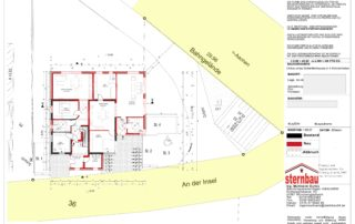 Architekt-Grundriss EG