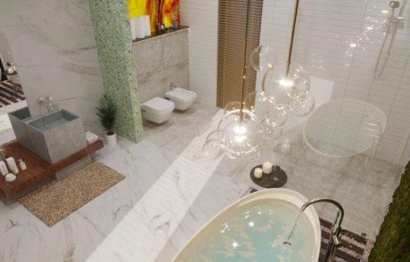 Badrenovierung und Sanierung